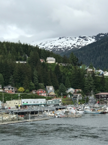 Bye Ketchikan, we enjoyed you. Thanks Julie for being our tour guide!