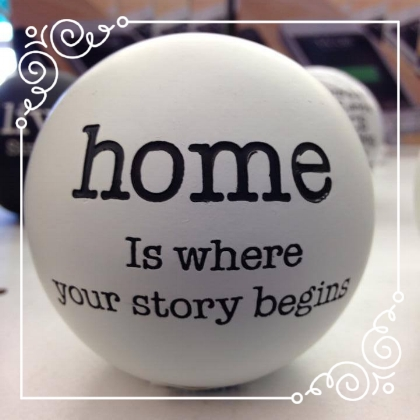 Home Is - This week we're to set a timer and write for 5 minutes on the optional prompt