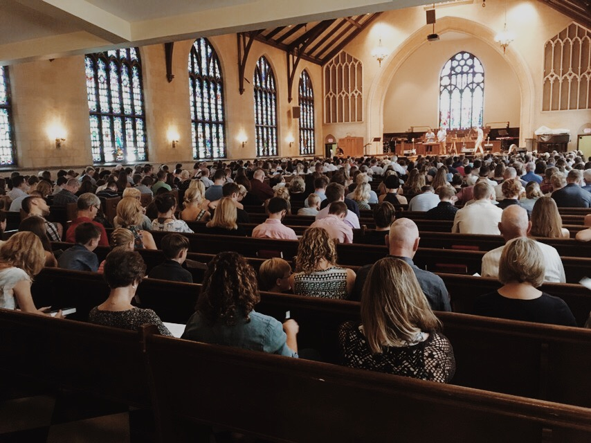 Sunday service at 10:30AM in Dimnent Chapel!