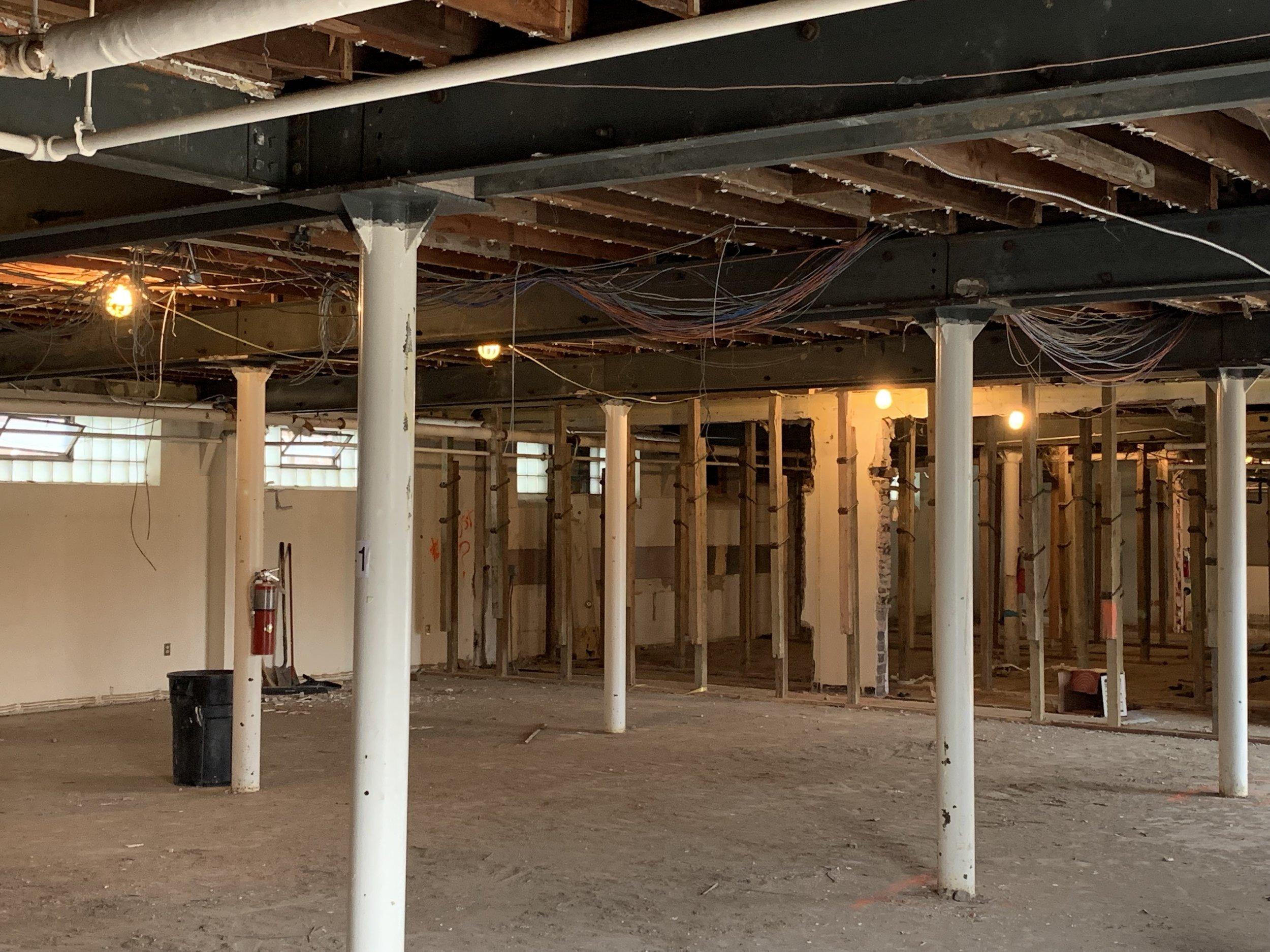 The basement of Pillar!