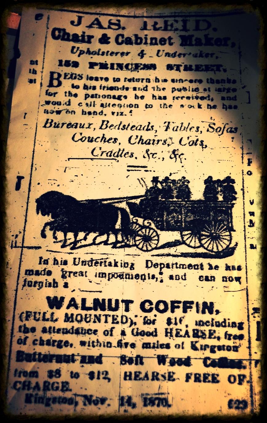 Original Advertisement from November 1870