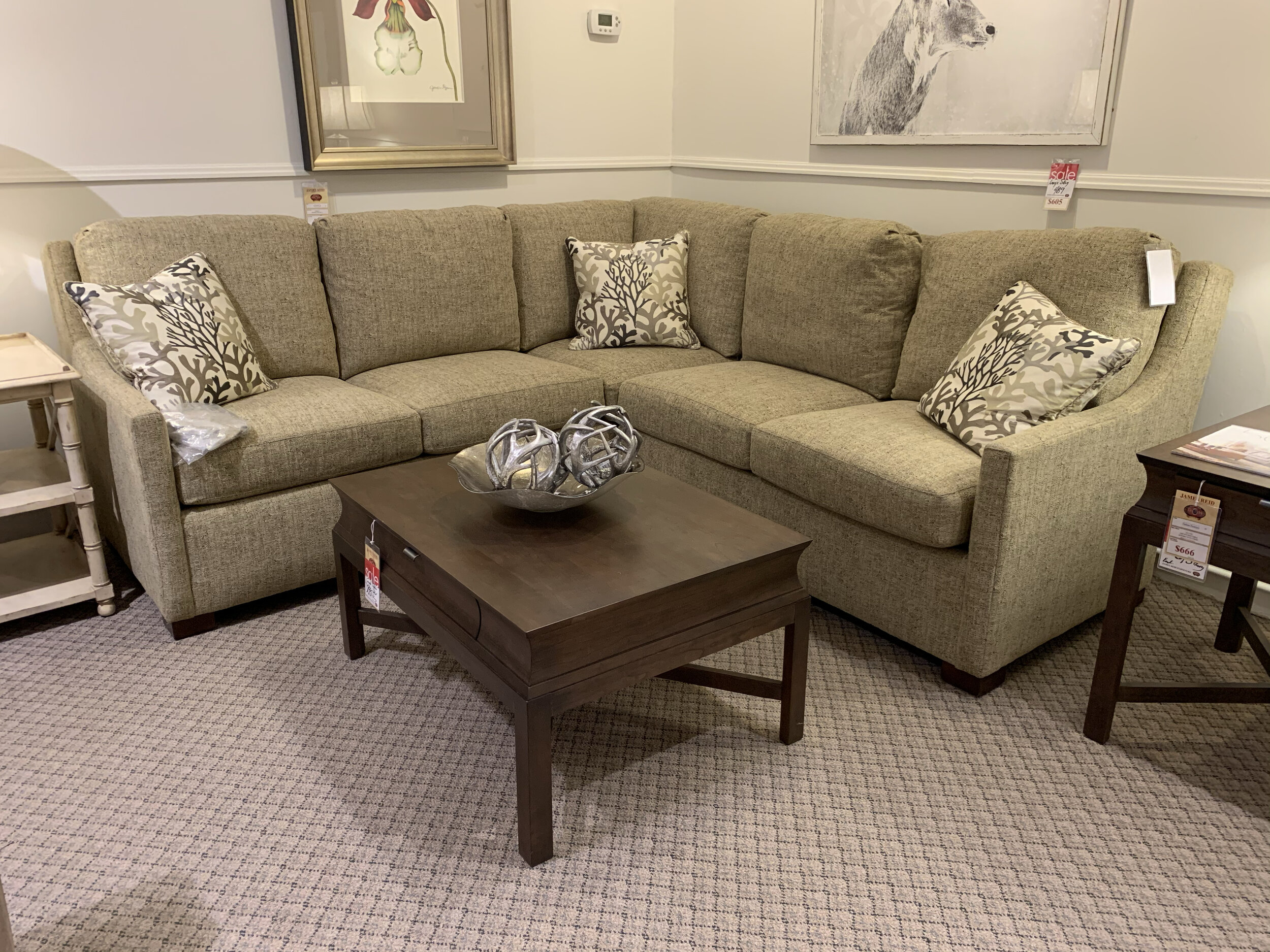 Stickley Sectional $6279.00 -