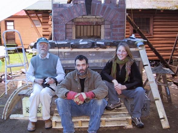 Alan Scott, Greg, Julie (assistant to Alan)
