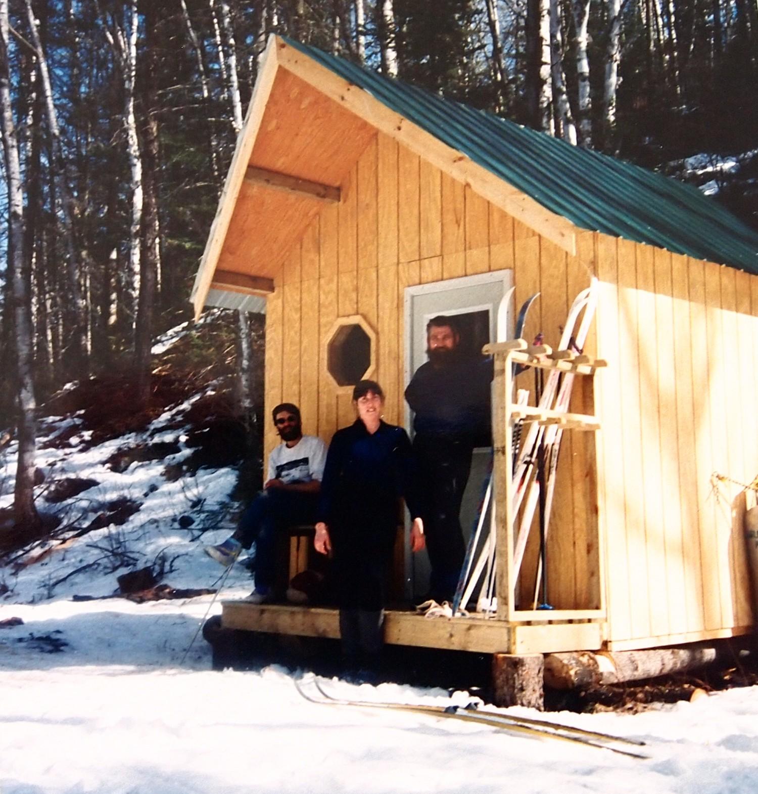 Warming shelter Ham Lake Trail