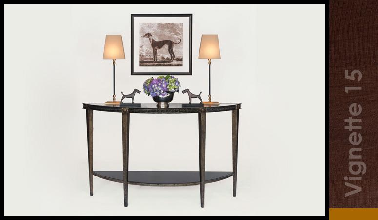 Regent Demi-Lune Table