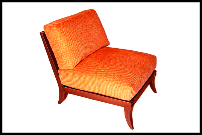 "Seat: 31: (D) x 28 1/2"" (W) Burnished Iron Finish"