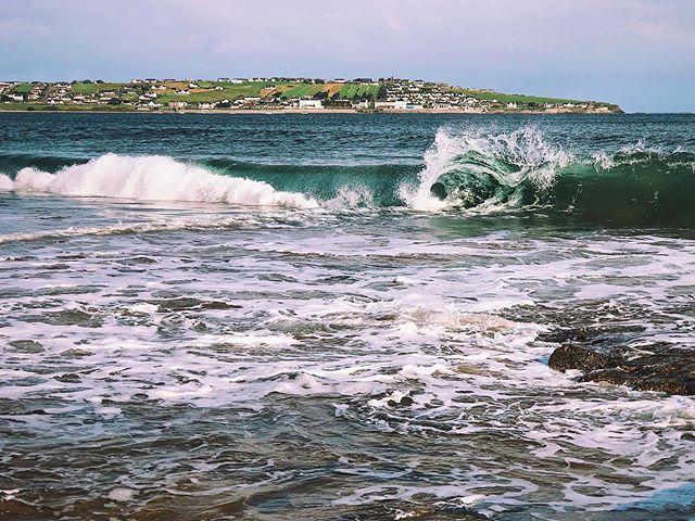 Roll Out the Barrel! . . . #mullaghmore #sligo #wildatlanticway #coast #bigsky #ireland #shotwithiphone #iphone #morning #goodmorning #dawn #sunrise #discoverireland #instaireland #irelandtravel #visitireland #surf