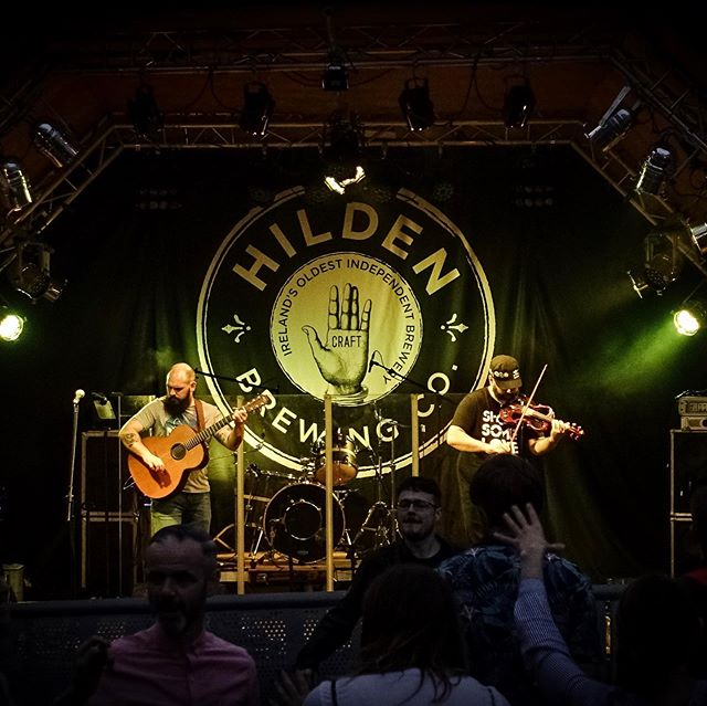 Much Ninja-ness to be had at Hilden in Sunday night! . . . #northernireland #lisburn #music #guitar #culture #art #musicjunkie #musicians #perform #strings #instamusic #instapop #instarock #pop #rock #rocknroll #rockmusic #lightroom #lightroommobile #adobe #sonyrx100 #belfast #sony #stringninjas #hilden #hildenbrewery #hildenbeerfest