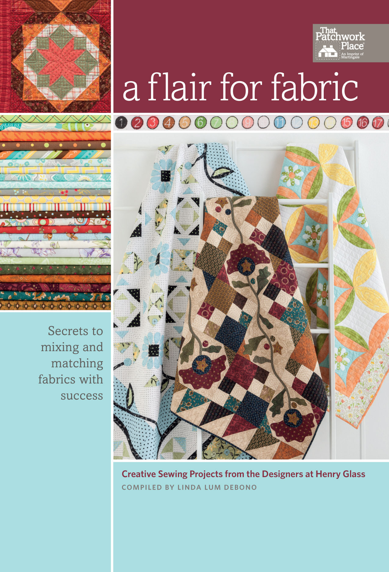 """A Flair For Fabric"" - Published by Martingale & Co."