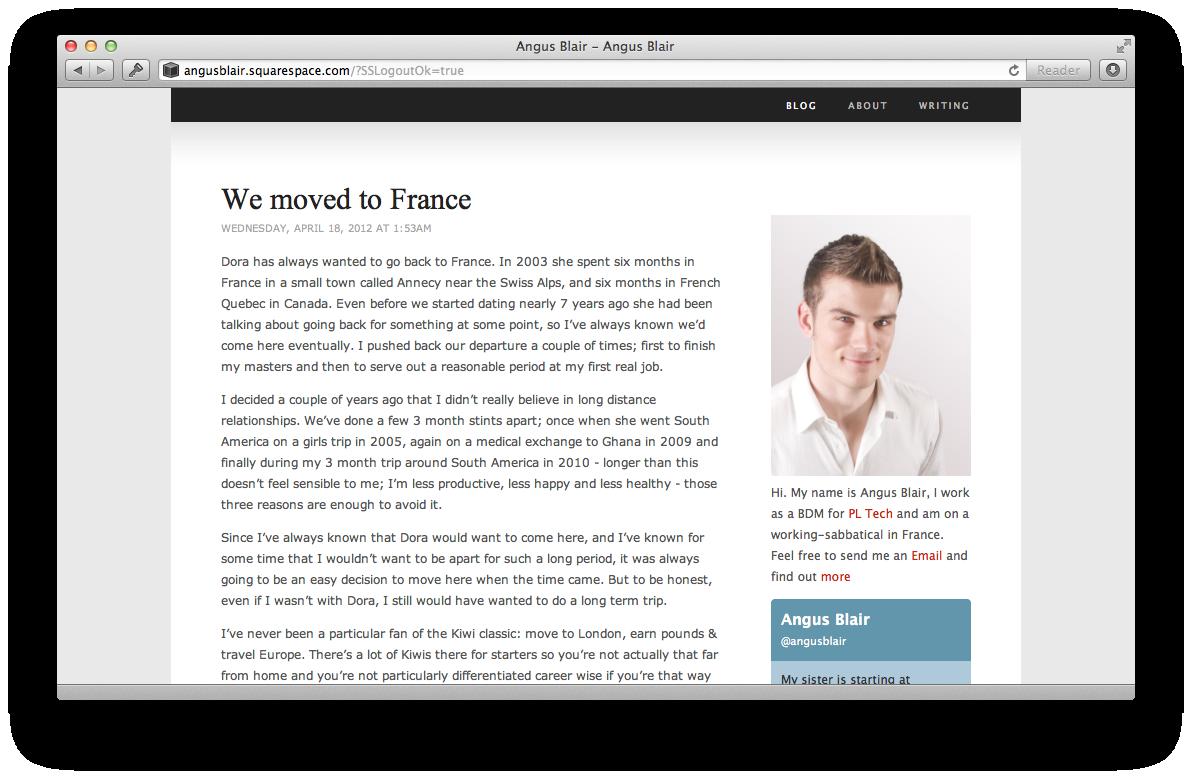 2009 Blog Design
