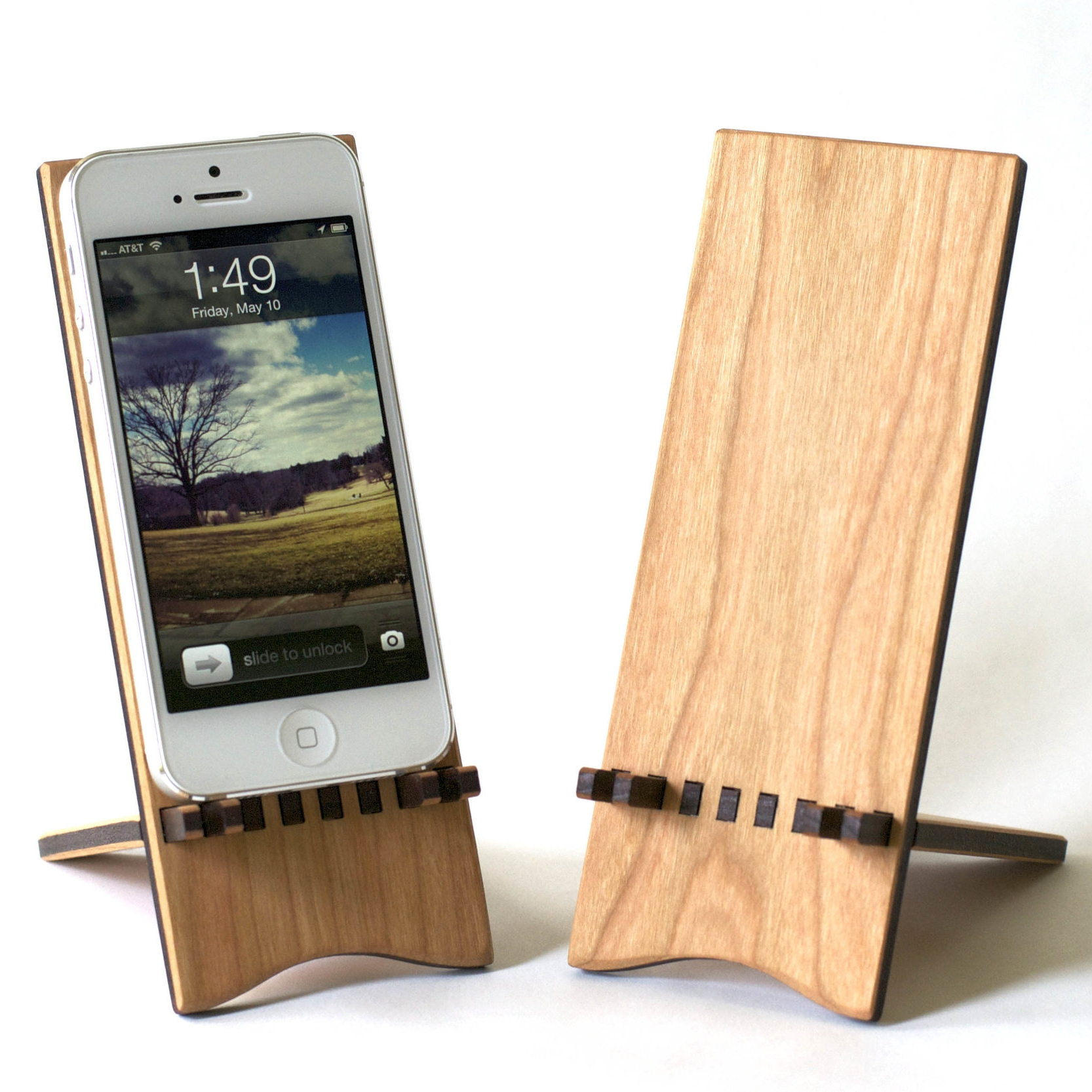 2. Smartphone Stand - This smartphone stand is useful and portable. The two pieces slide apart so it can be easily packed and taken wherever your graduate is headed. Help your graduate maintain easy access to his or her phone (which, let's be honest, is important to them!) whether they want to be able to see it while they are working on their computer, or on their bedside table while it charges.
