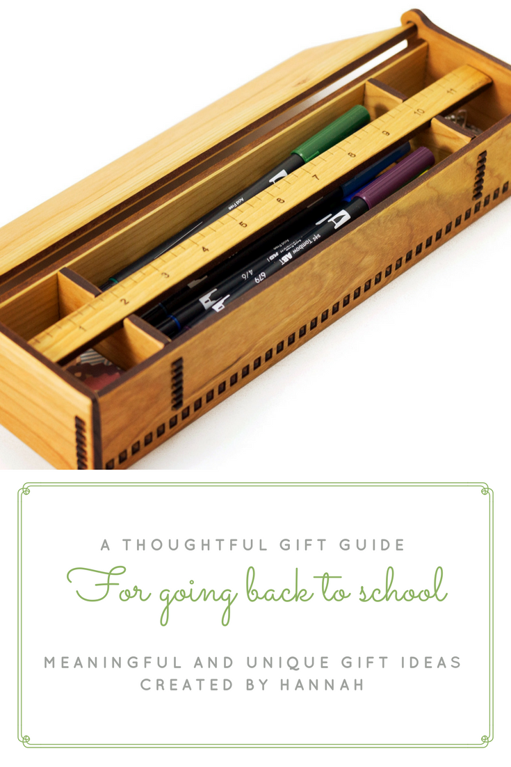 Gift Guide for Going Back to School
