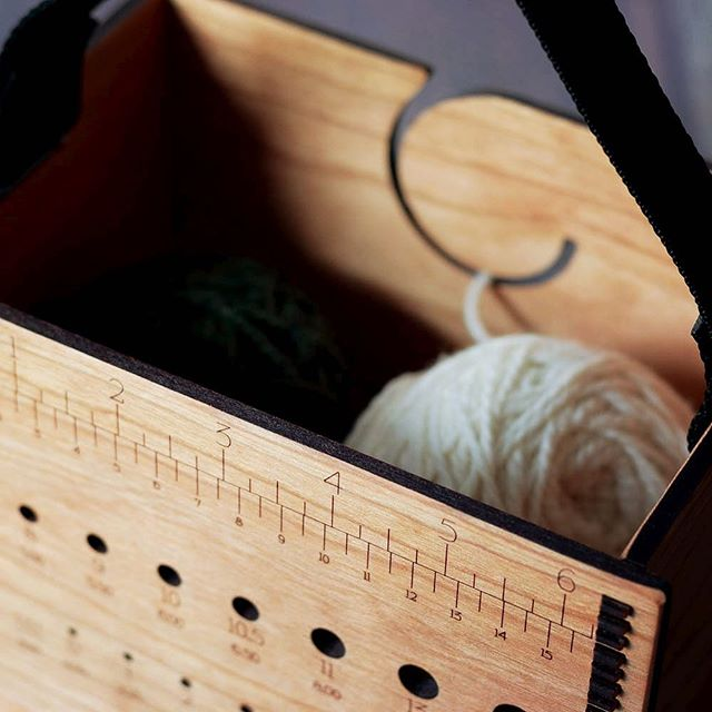 A little sneak peek of something new...coming to a local yarn store near you! . To be notified when this new yarn box is available on my website click the link in my profile, scroll to the bottom of the page and subscribe to my email list! . #shopsmall #knittersofinstagram #instaknit #supportlocal