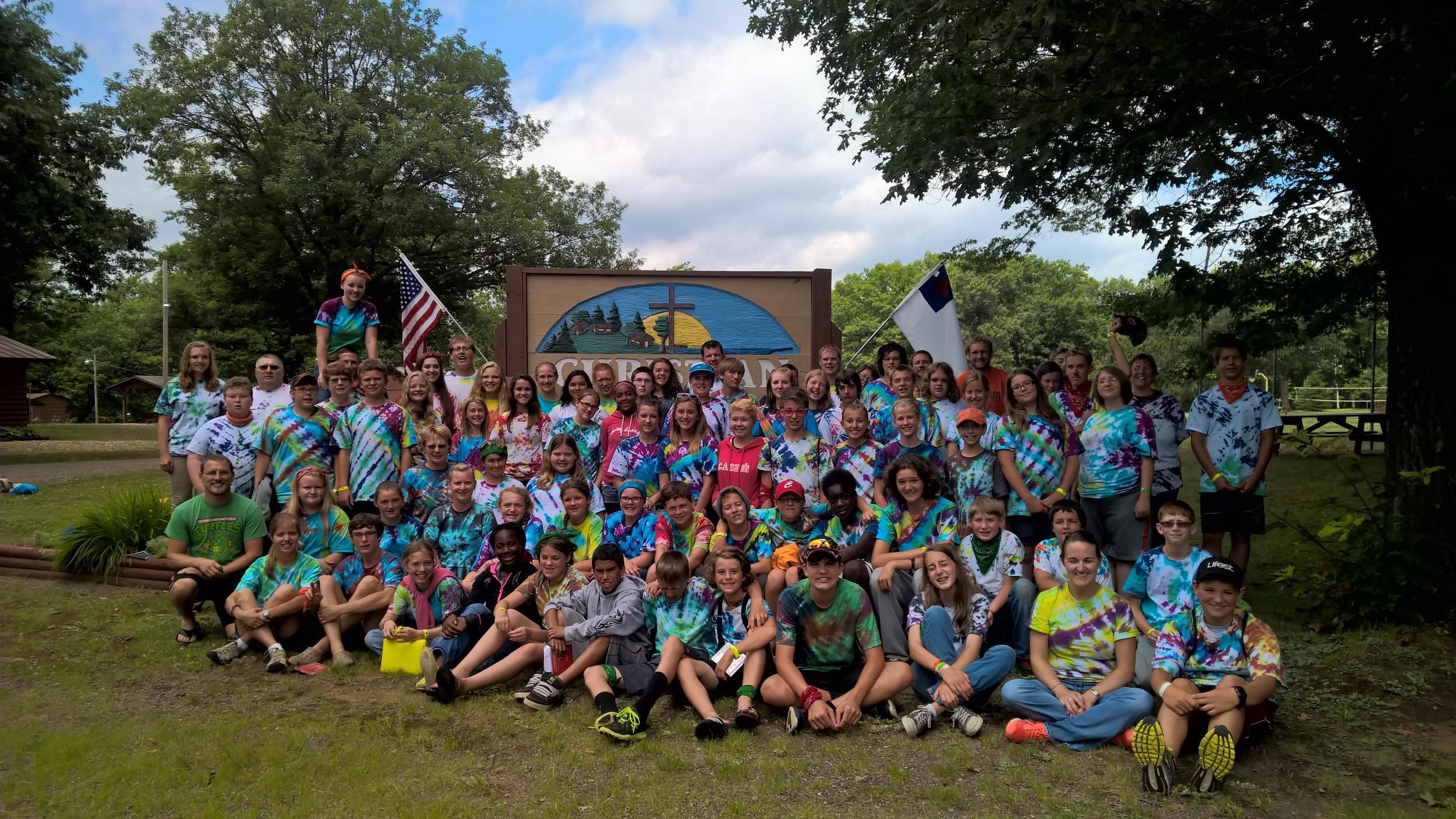 Grade 8-9 Camp