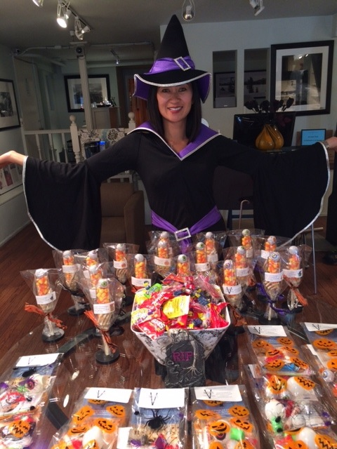Dr. Schmidt and her spell-binding sweet shoppe