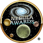 Old-school nebula award logo