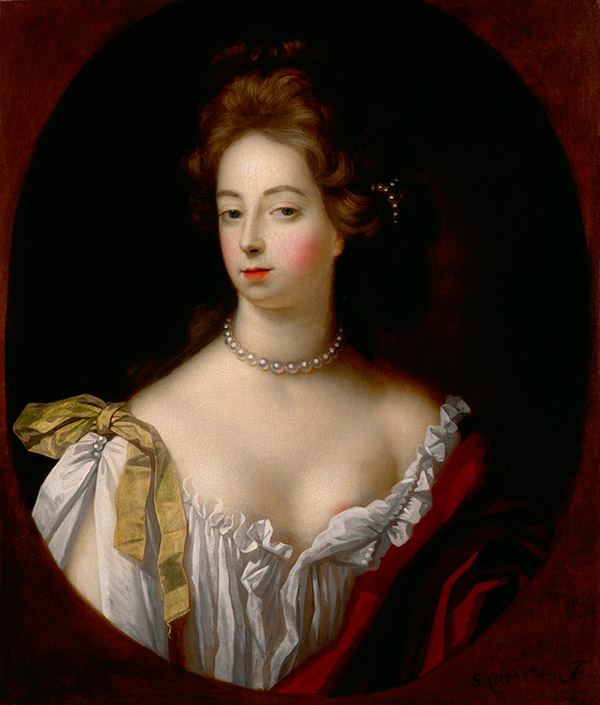 "Nell Gwyn  -- ""the most famous Restoration actress of all time, possessed of an extraordinary comic talent"" ...and also the mistress of King Charles II."