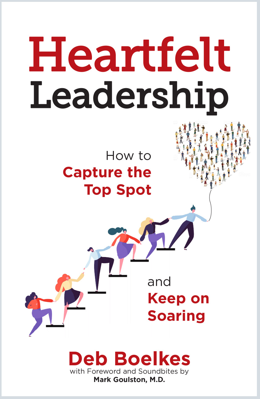 Heartfelt Leadership book