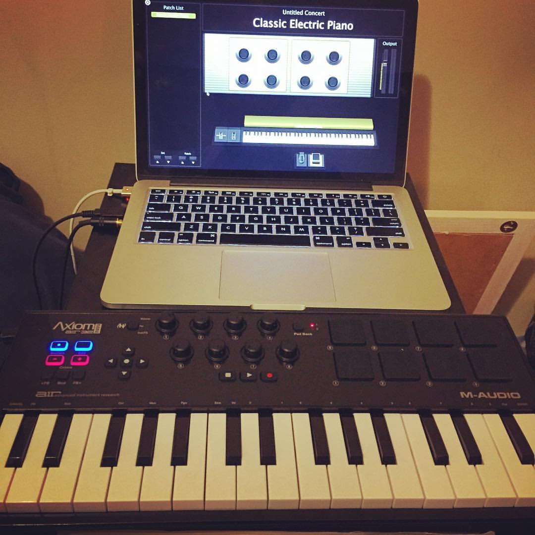 I used this Axiom AIR with mini keys to produce an entire song last week while I was on the road.