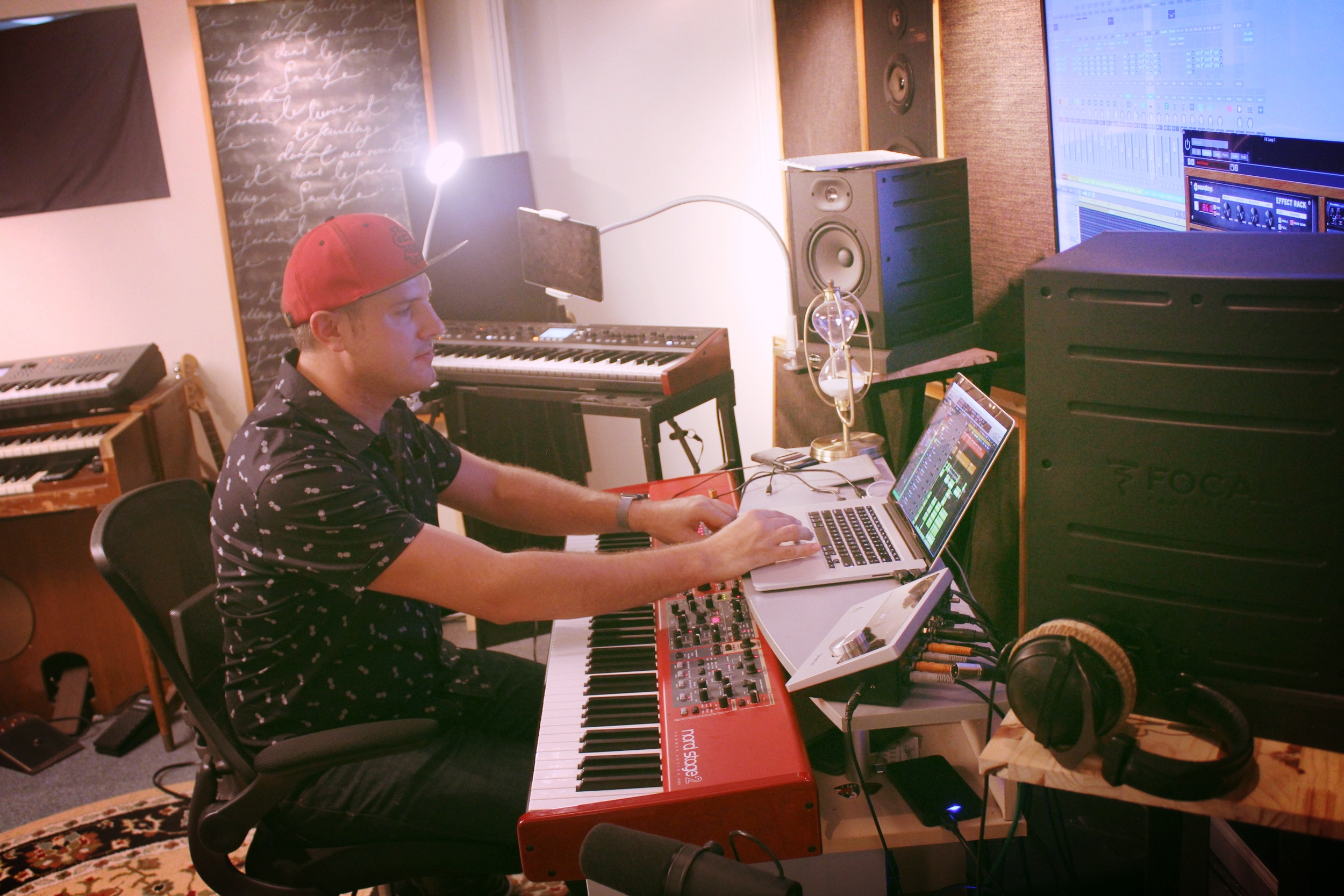 Step 2: Music Production - Once we receive files of your music from you, Eric will begin production work on your track. Once he has it sketched out, you'll receive a pre-mix copy for your approval. You also get the option for one free revision at this stage, as well.