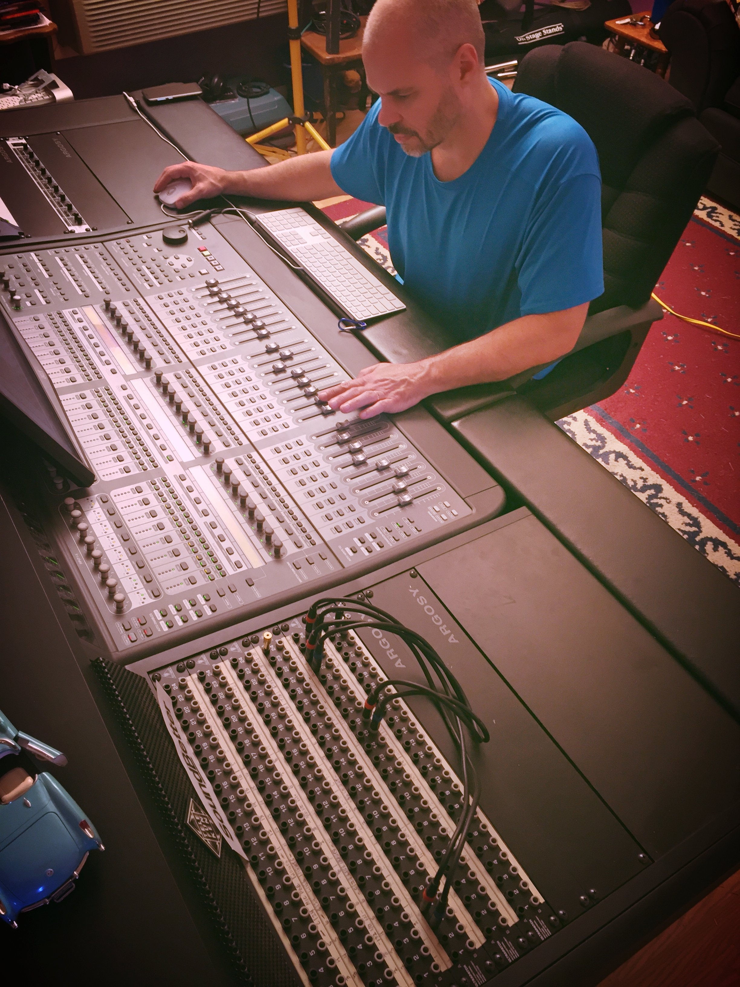 Step 3: Mixing/Mastering - Once you've approved the production, Marc will begin taking Eric's tracks and creating a final mix. Once the mix is finished, you'll get a mix for you to approve.