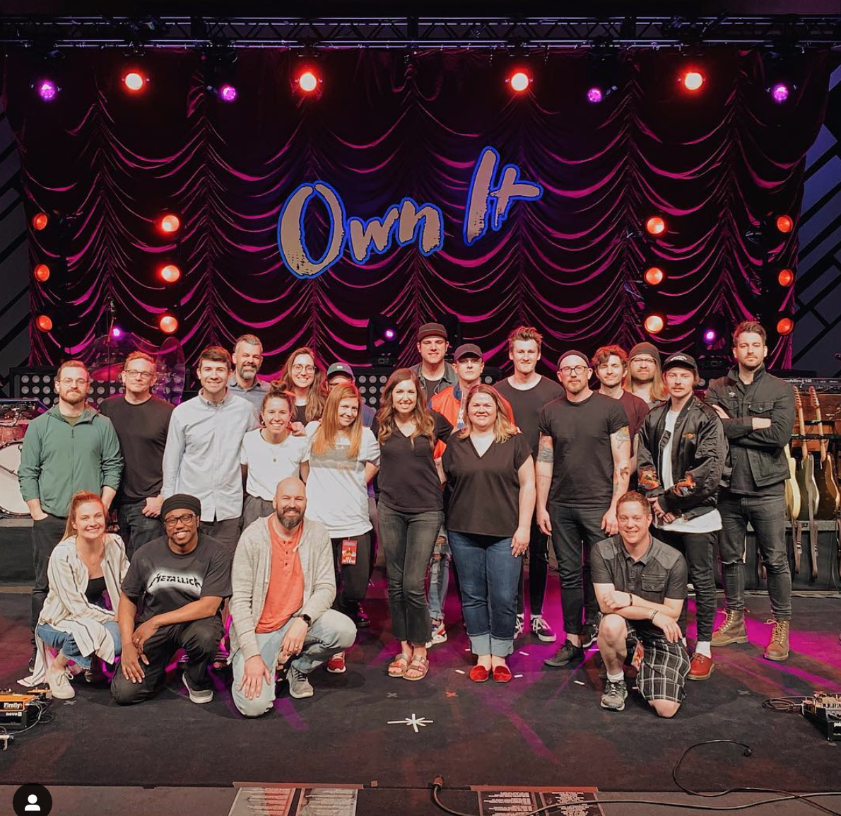 Touring with CCM artist Francesca Battistelli.