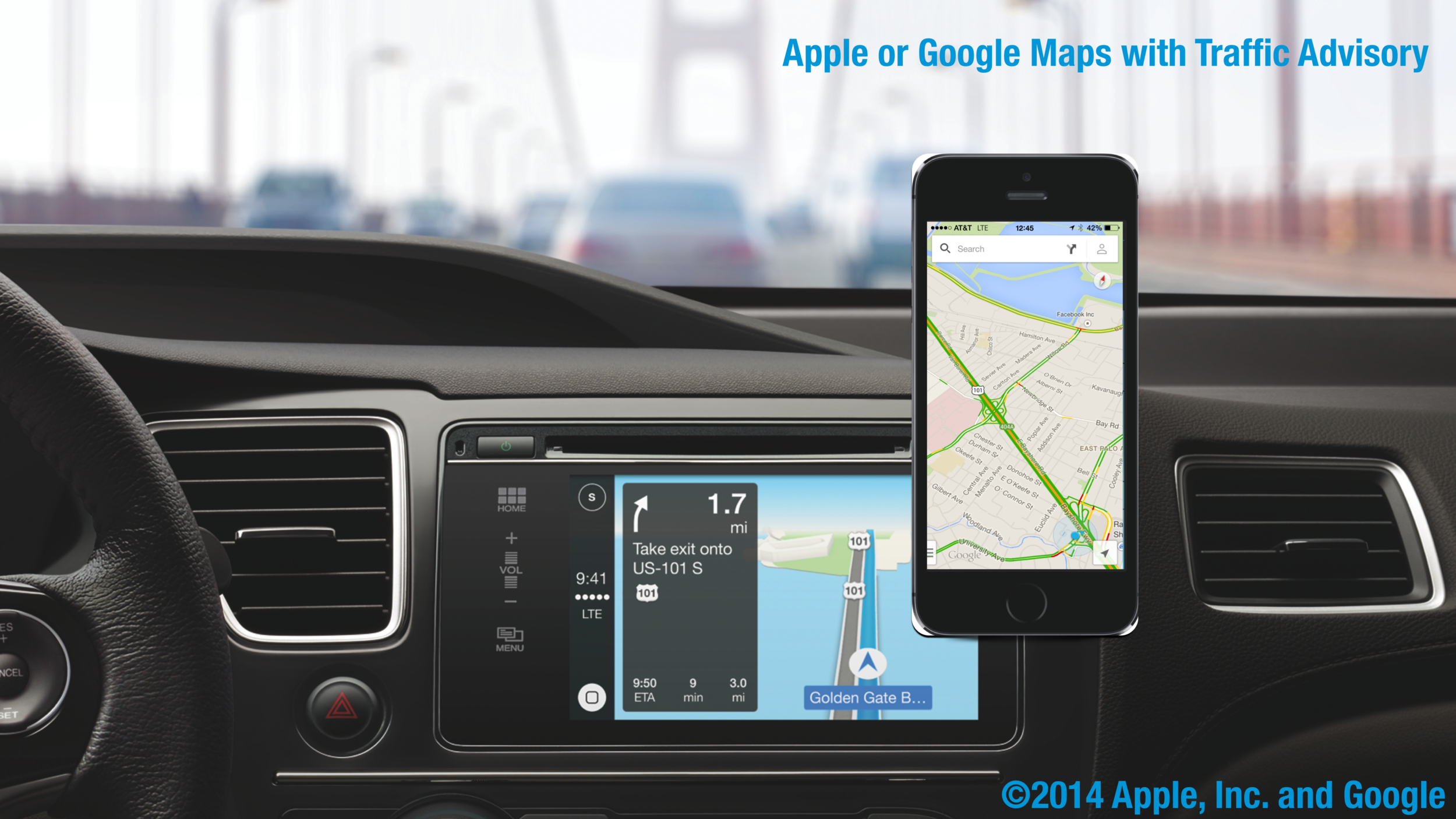 Basic in-car navigation takes the concept of traffic radio, paper maps and some intuition, combining them into a system which drastically increases the ease of use for the end user. Such systems don't utilize the full potential of the technologies at hand even with existing devices—but why?