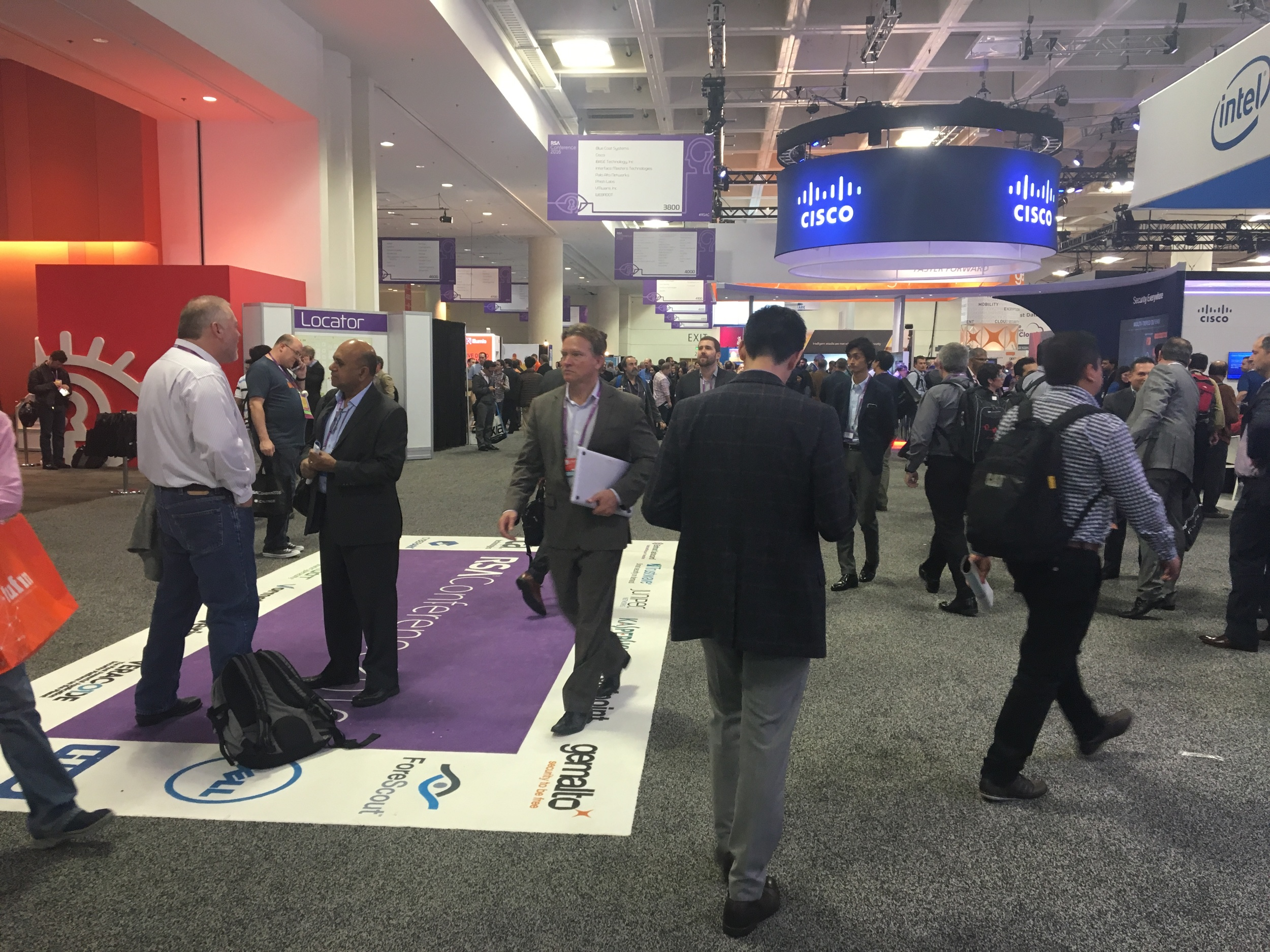 RSA 2016 conference floor