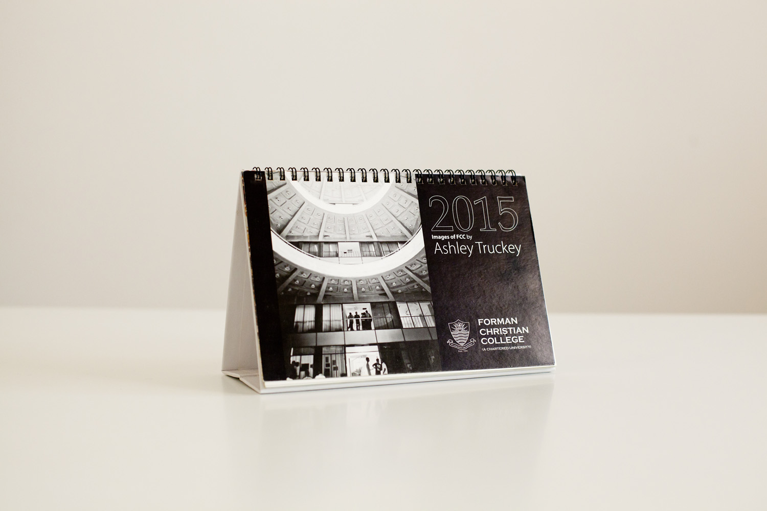 After the 2014 exhibition, the university used the images for their 2015-2016 calendar.