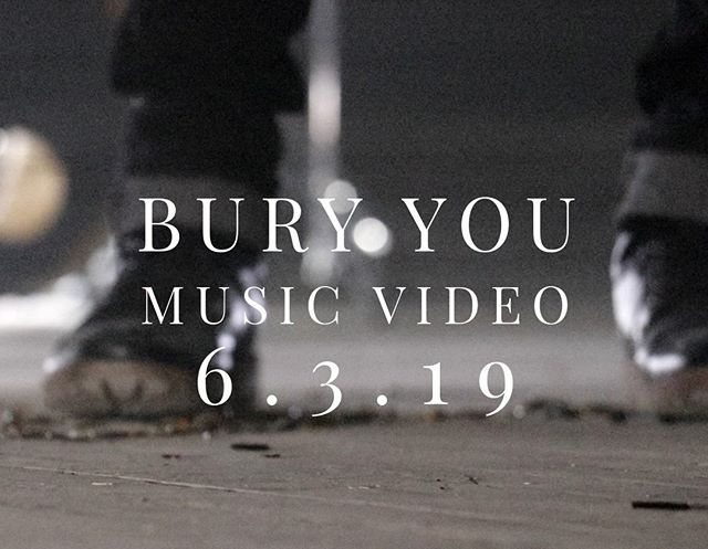 The official #BuryYouMusicVideo drops tonight on Facebook and Youtube at 12:00am EST! ⌛  Who's ready? 🙋