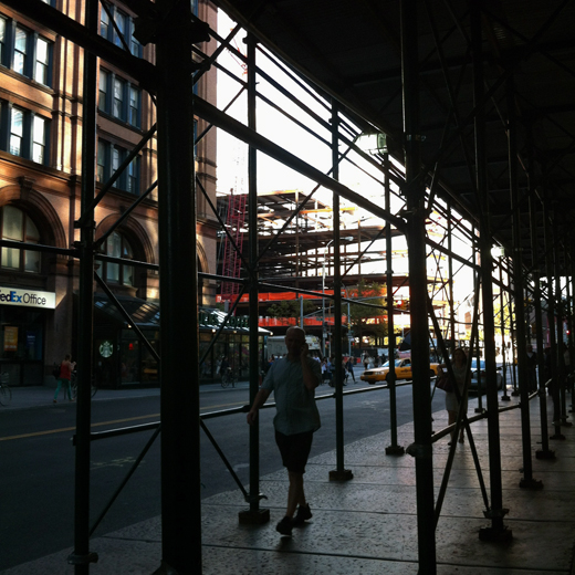 scaffolding city, shot 64