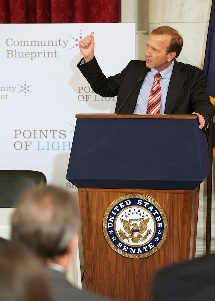 """Civilian transition is one of the greatest challenges facing many service members, veterans and their families when they return to their communities,"" said Neil Bush, Chairman of Points of Light's Board of Directors."