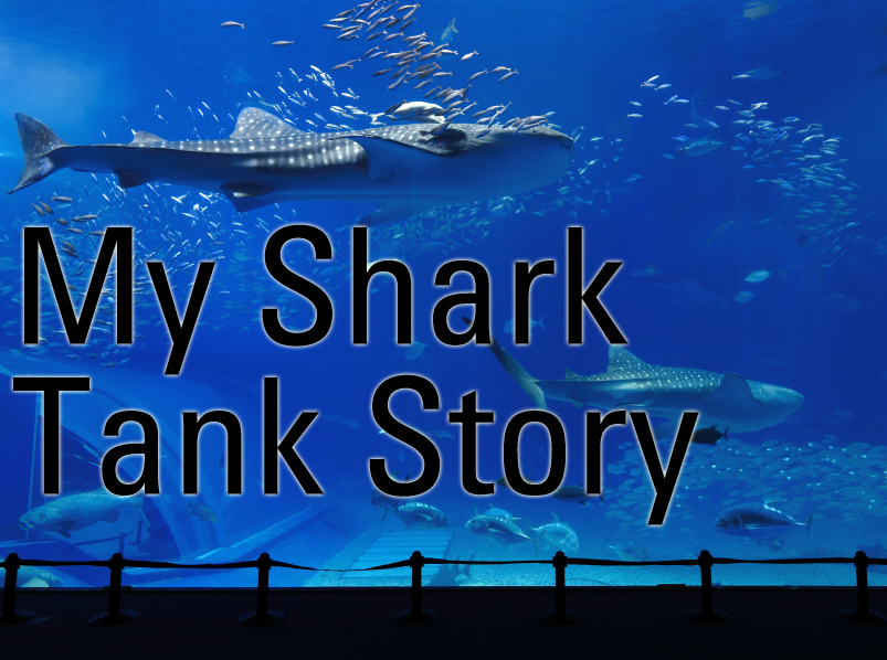 I'm a big fan of the ABC show, Shark Tank, where entrepreneurs seek funding from celebrity investors. The business owners' stories always begin with the pain that inspired their inventions. This is my shark tank-inspired story.