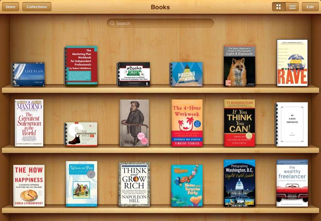 What's on my virtual bookshelf? It's all here in my Reading Room.