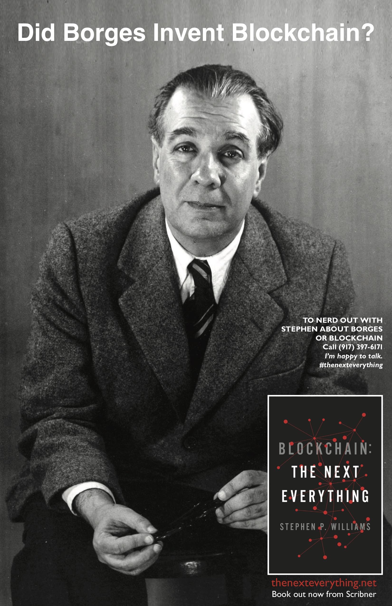 Borges Block Chain Poster 8x10  jpeg.jpg