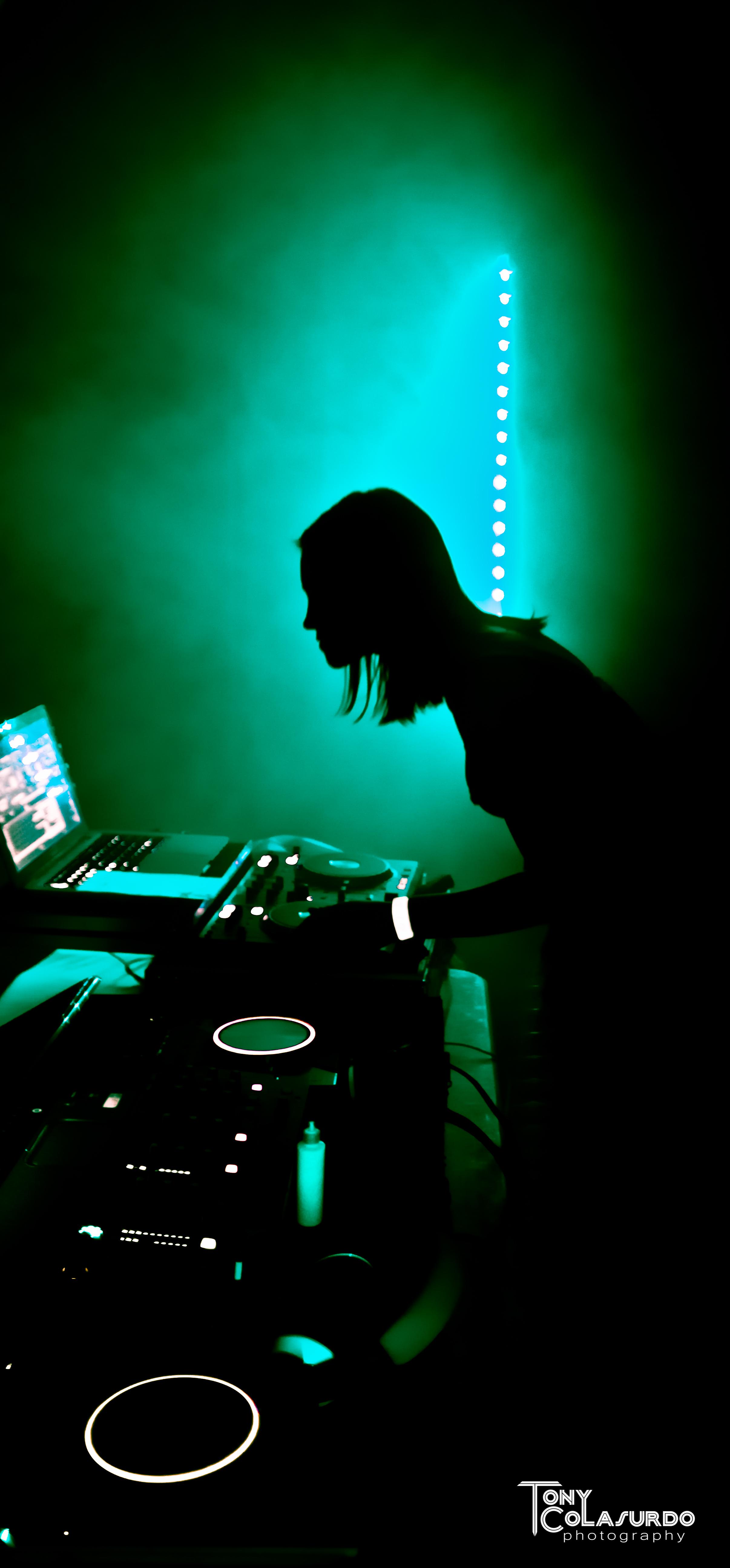 Megstr performing at Blackout!