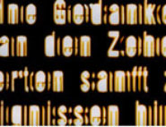 still from 'gestern', video projection by Edith Flückiger, 2014/ 2D-compositing Ralph Kühne