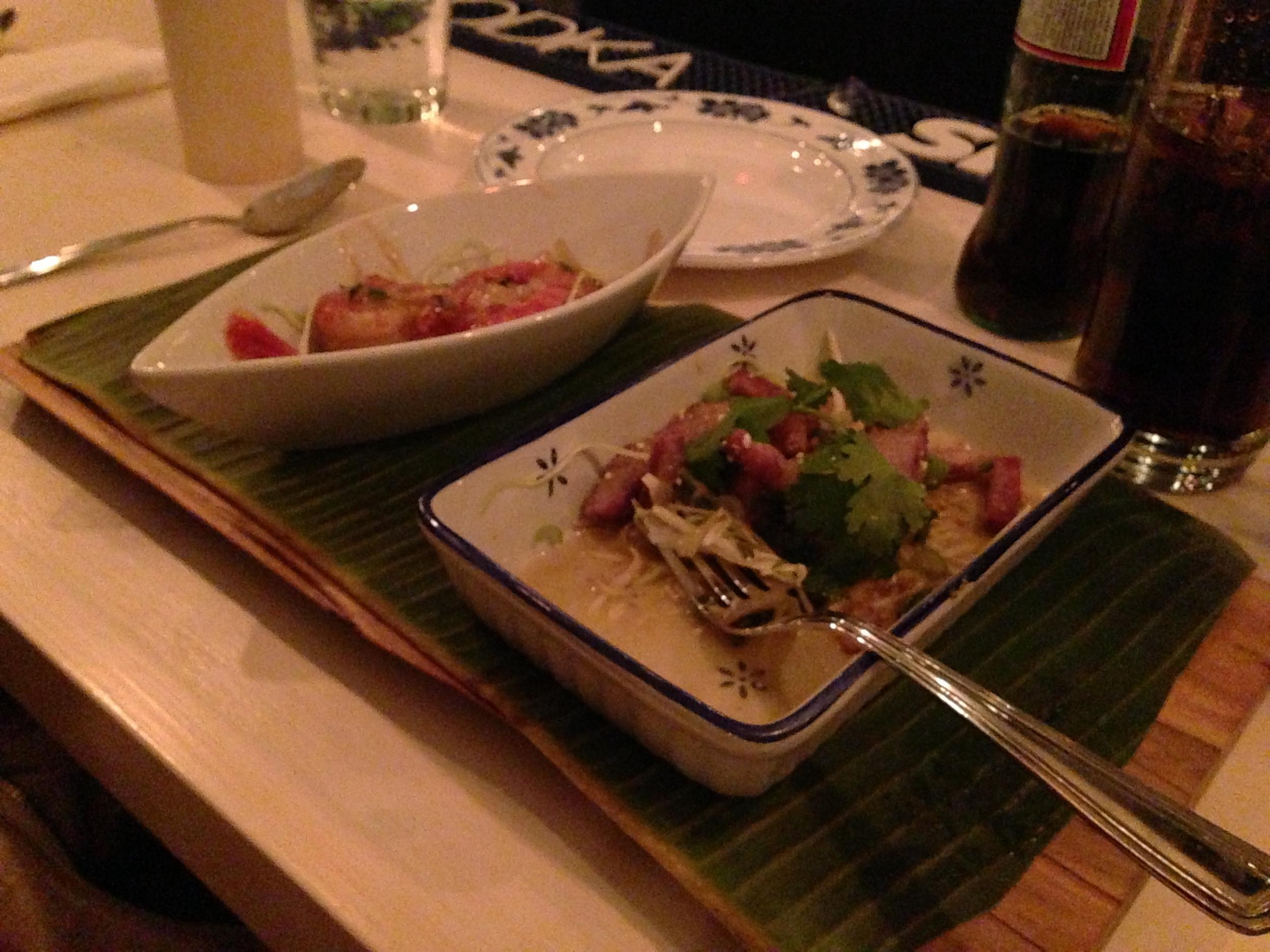 Shrimp and Pork Salad