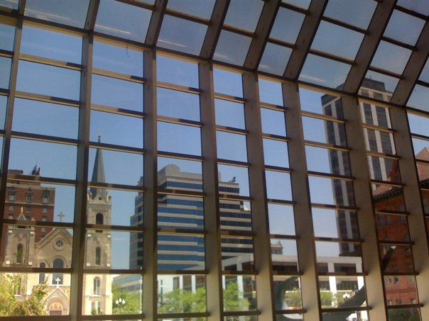 Civic Center Windows  Tim Johnson