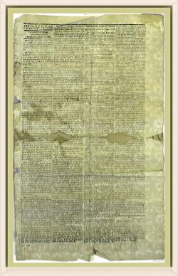 1863 Daily Citizen - Border
