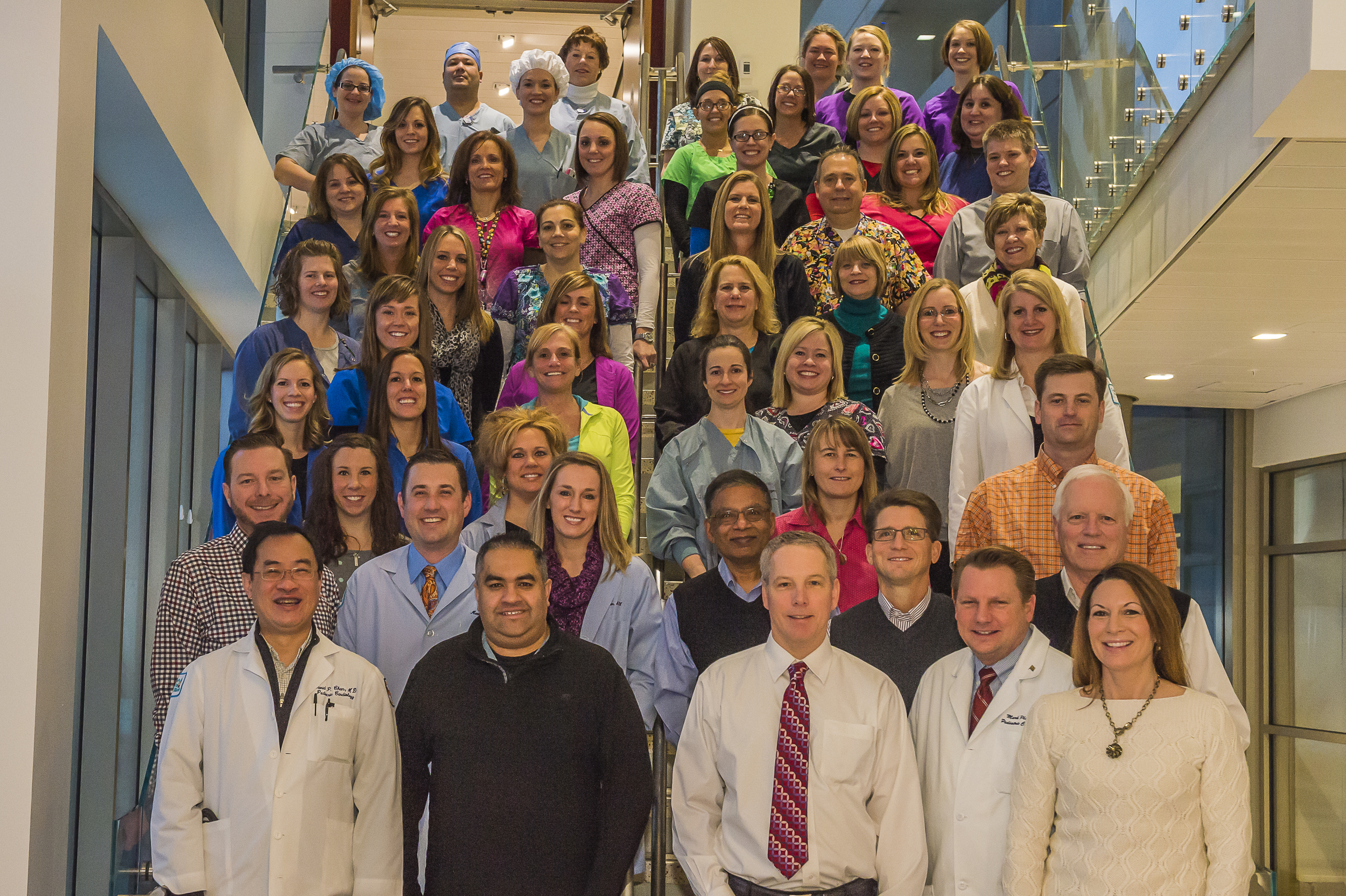 The Congenital Heart Center Team at Children's Hospital of Illinois at OSF Saint Francis Medical Center    is an important wish referral partner.