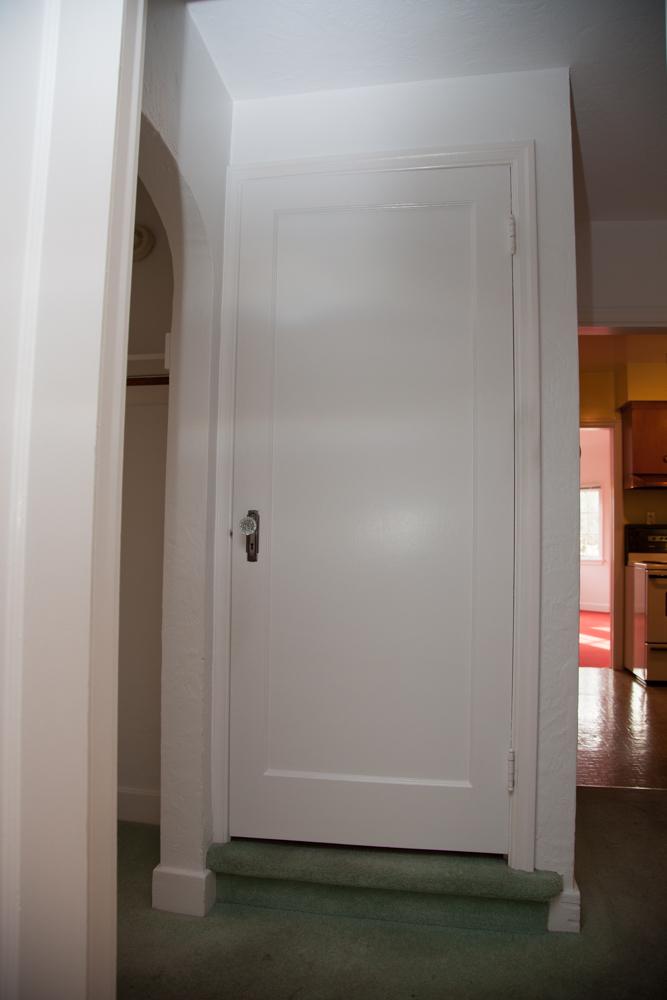 Door to upper floor