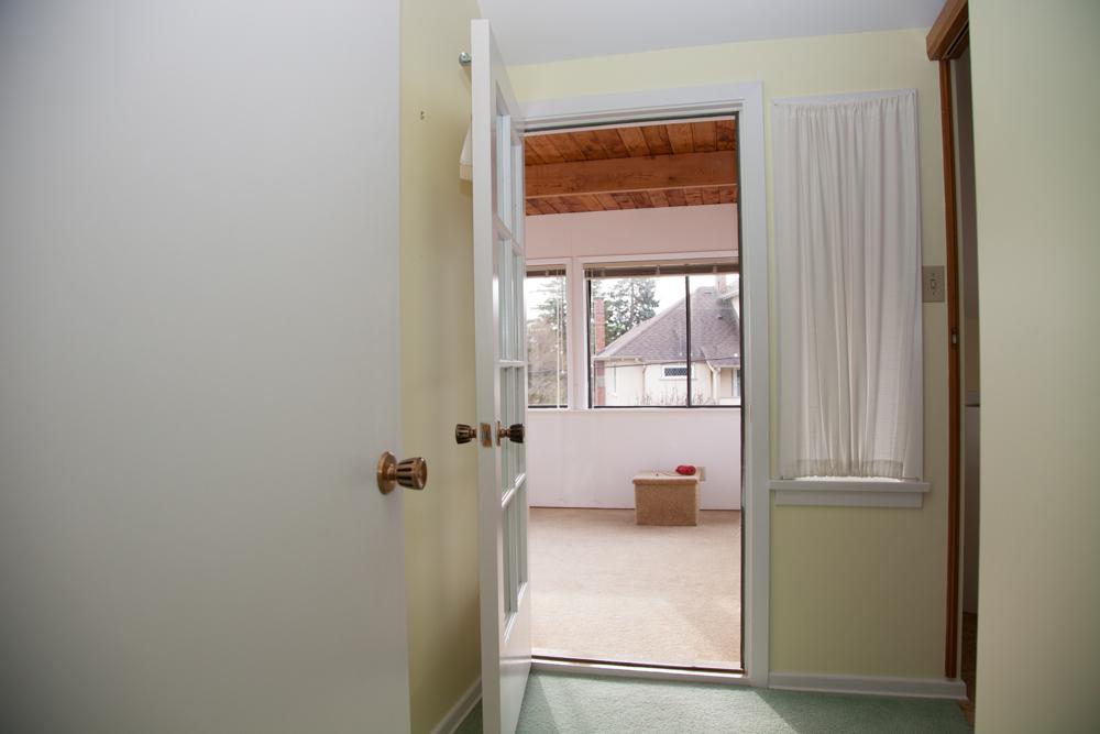 Sunroom Entrance