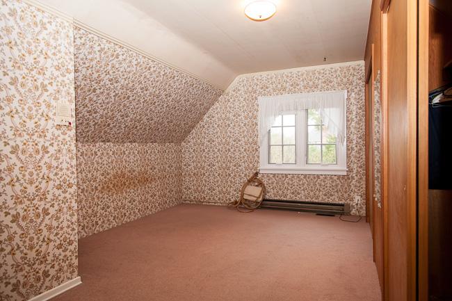 bedroom: before