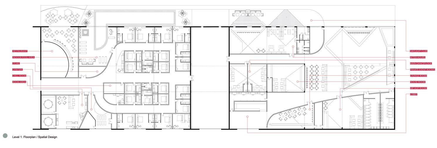 FLOORPLAN. Proposed Floorplan of Pier 48.