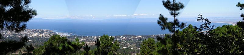 Monterey Bay Panorama From Jacks Peak