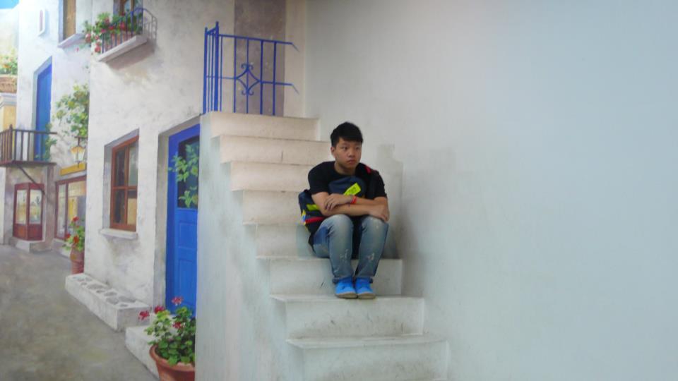 Photo Source: Chunyin Jonathan Chan © Jonathan is suddenly transported to Santorini, Greece.