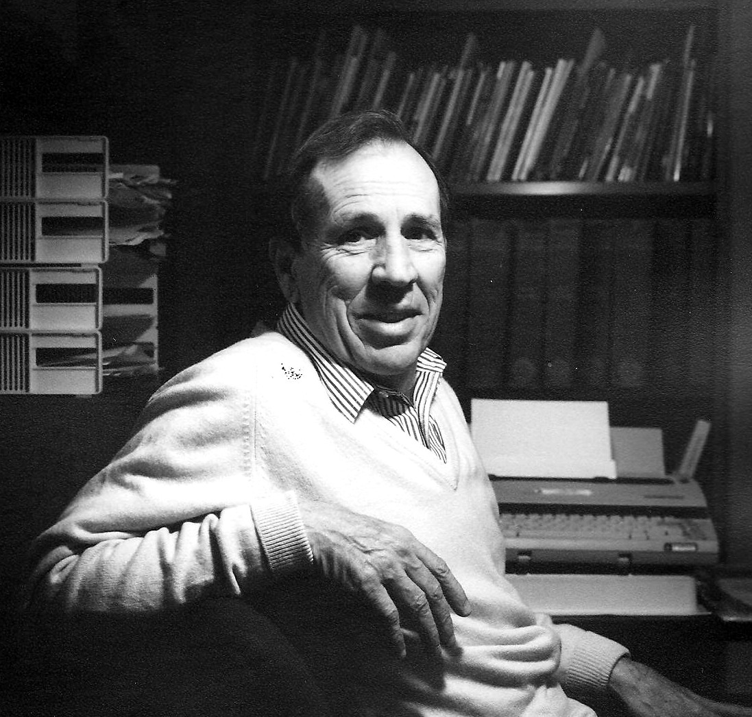 Author John Wheatcroft - American novelist, poet, and playwright