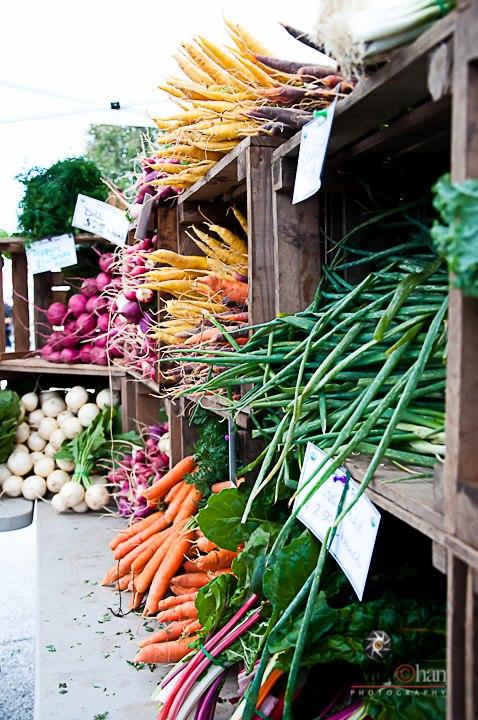 Orange carrots - Priscilla Chan Photography  © 2012