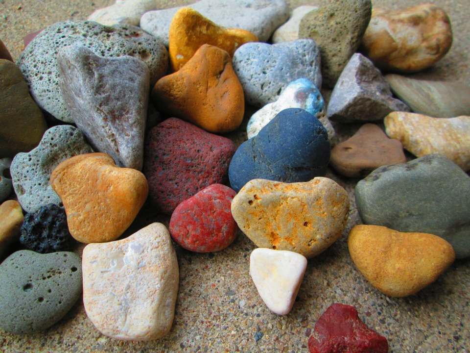 Beach Rocks and Pebbles